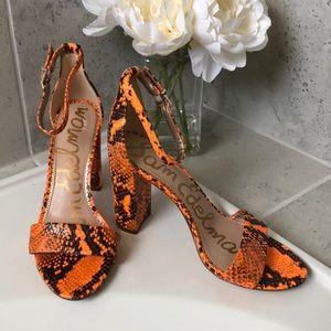 NEW!  Sam Edelman Yaro Block Heels - Size 9
